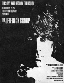 Jeff Beck at the Boston Tea Party