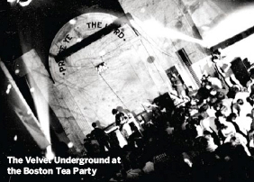 Boston Tea Party Velvet Underground