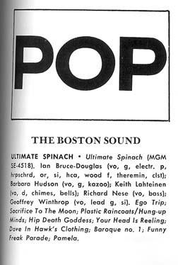 Jazz and Pop article on the Boston Sound ...detail