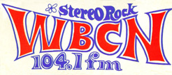 WBCN bumper sticker